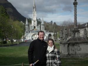 Zuzka a Martin Musilovi v Lourdes