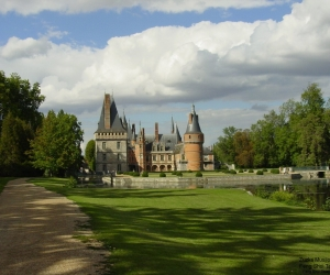 Zamek Maintenon ve Francii